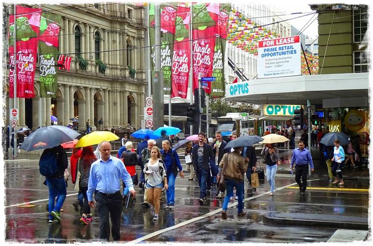 Из Сиднея в Мельбурн или из Лета в Зиму