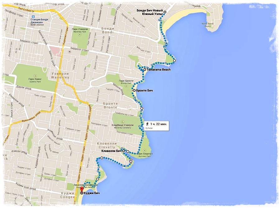 Пляжи Сиднея