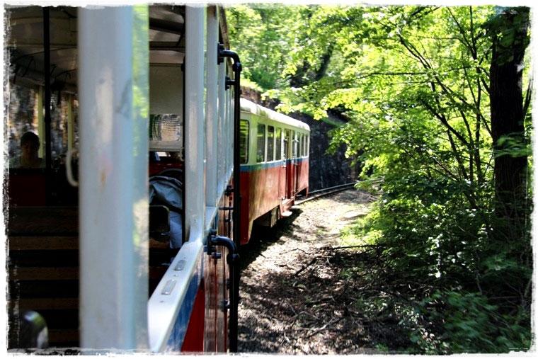 Будапешт. Детская железная дорога