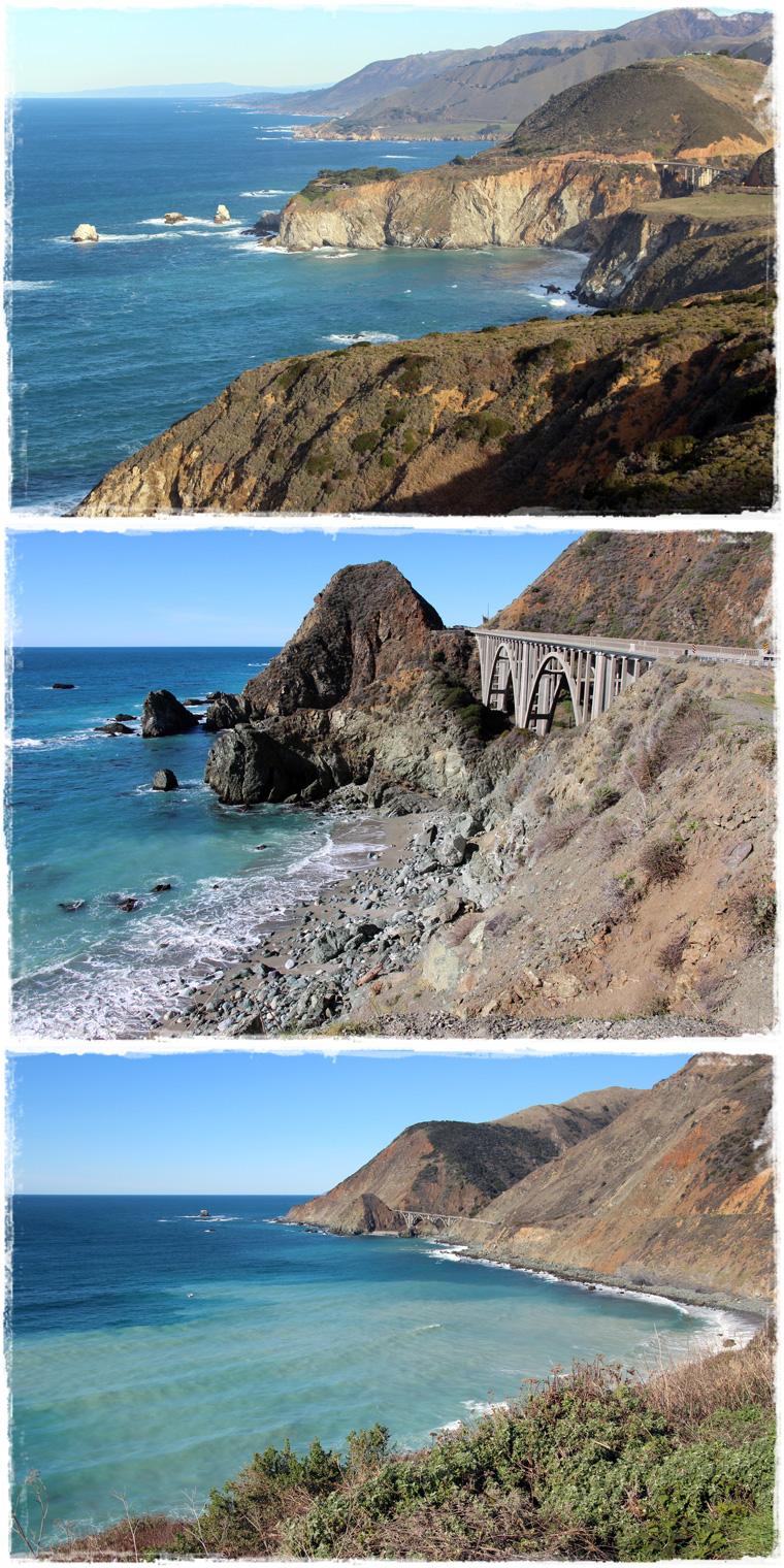 Калифорнийское шоссе Highway №1 - Биг Сюр и прочие красивые места