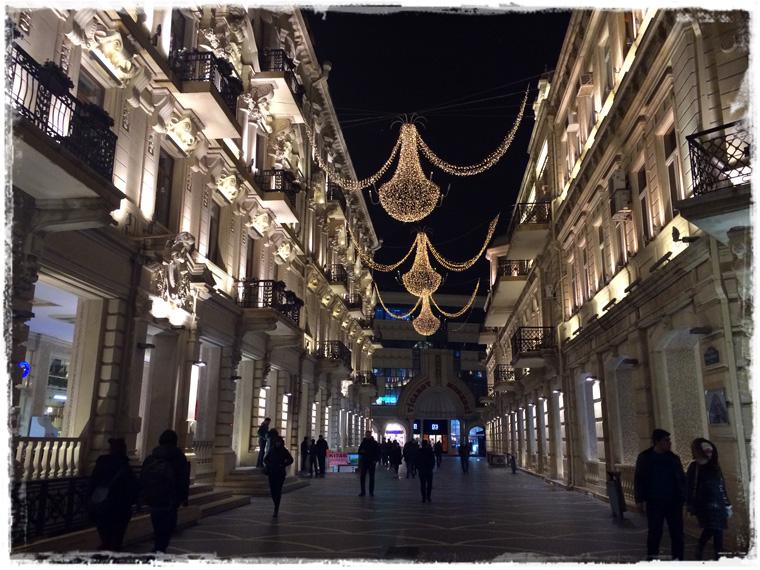 Мерси боку, февральский Баку