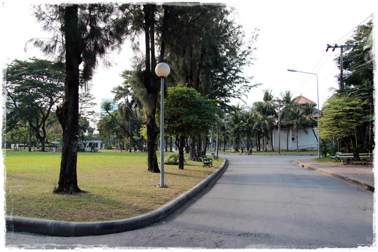 Бангкок. Городской парк Lumpini Park