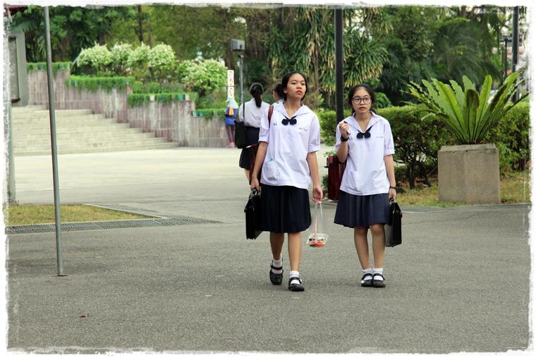 Бангкок. Уютный скверик Romaneenart Park