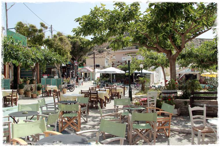 Крит. Наследие Хиппи - пляж Матала