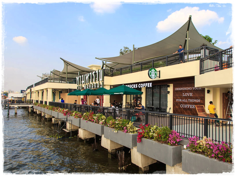 Неожиданный Бангкок. Арт-пирс Tha Maharaj Pier