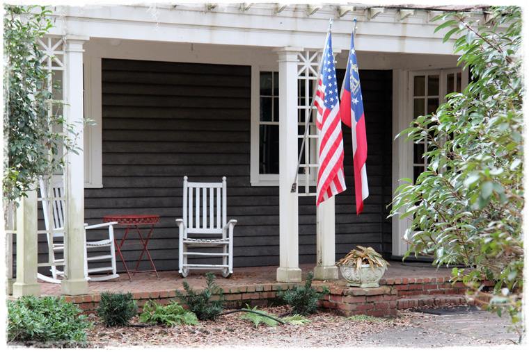 Штат Джорджия. Плантация Wormsloe Historic Site и предзакатное волшебство