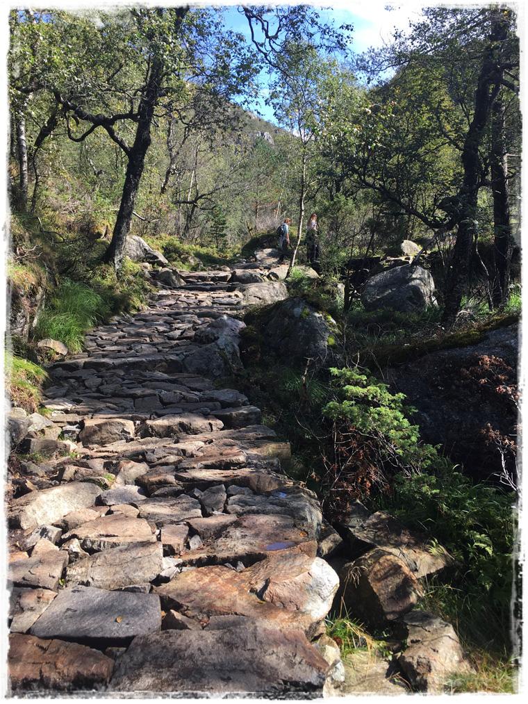 Норвежские фьорды. Пеший подъем к Прекестулен - по горам, лесам, просёлочкам...
