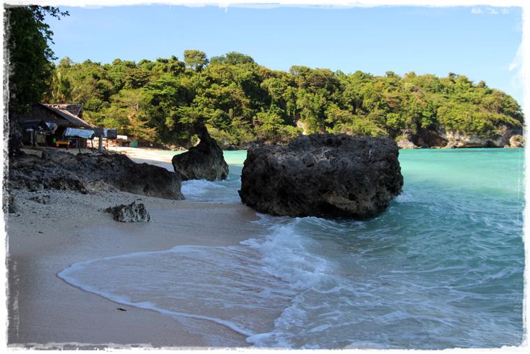 Боракай. Уединенный пляж Ilig-Iligan beach