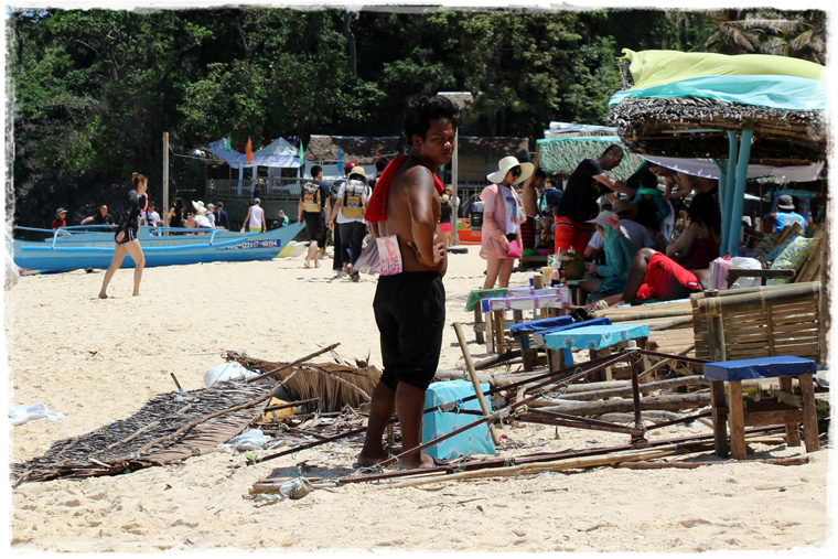 Боракай. Puka Beach - куда бежать от надоедливой толпы