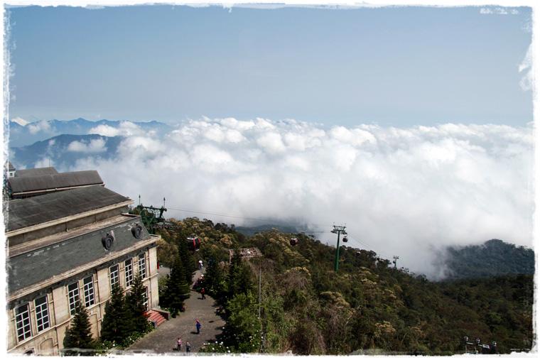 Дананг. Ba Na Hills - выше радуги и выше облаков