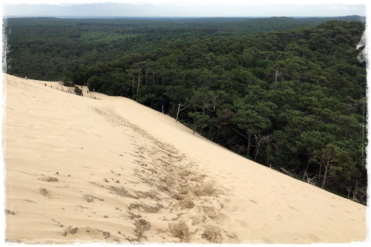 Dunes of Pilat - песчаные барханы очередного чуда Франции