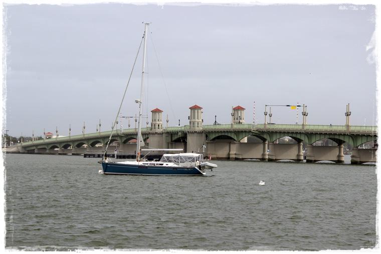 Флорида. St. Augustine - самый старый и для нас самый дождливый город США