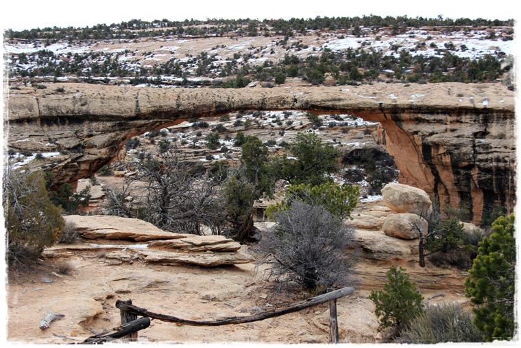 Фантастическая Юта - зимний поход в Natural Bridges National Monument