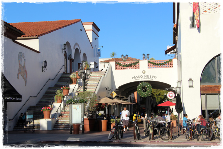 Калифорния. Уютная и знаменитая Санта-Барбара