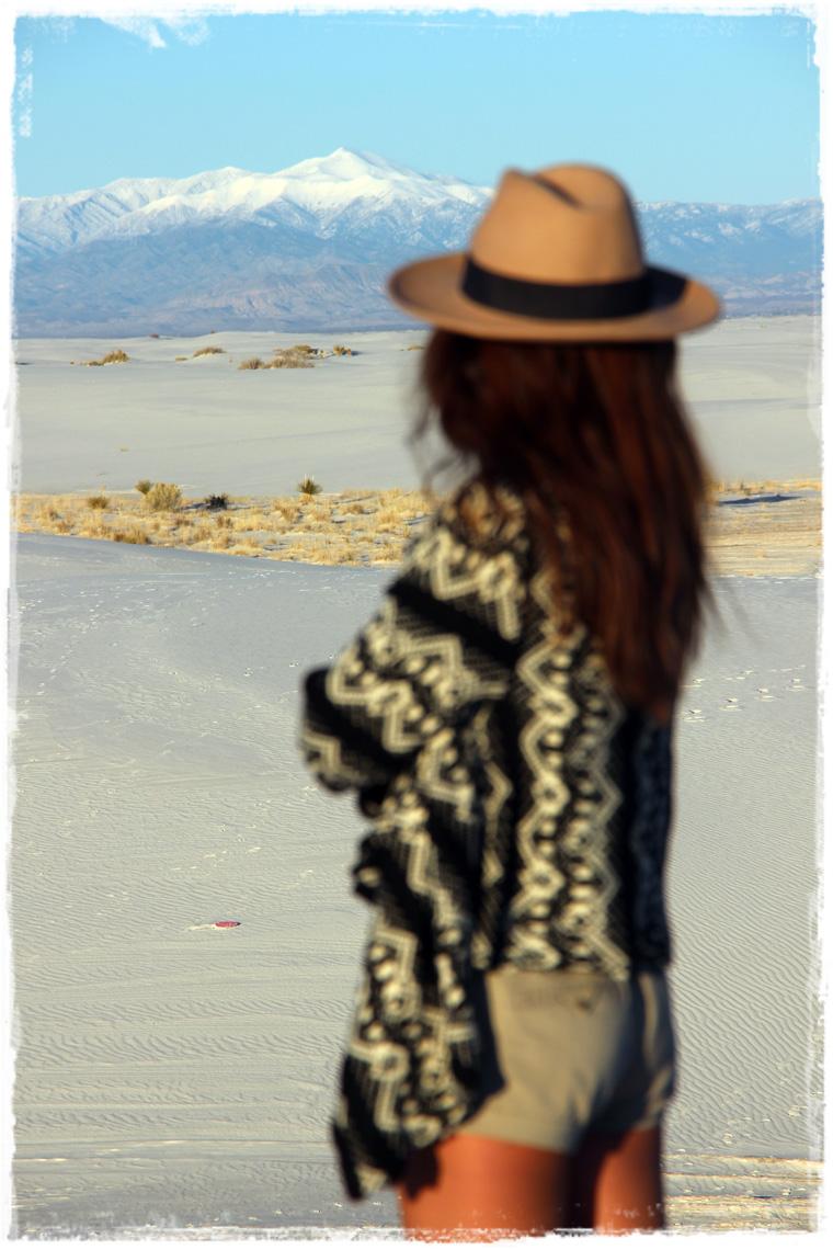 Нью-Мексико. Национальный парк White Sands - бескрайние барханы цвета мела и сметаны