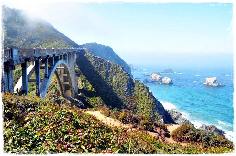 Калифорнийское шоссе Highway №1
