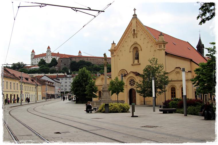 В Братиславе дождь и чем заняться один день в столице Словакии