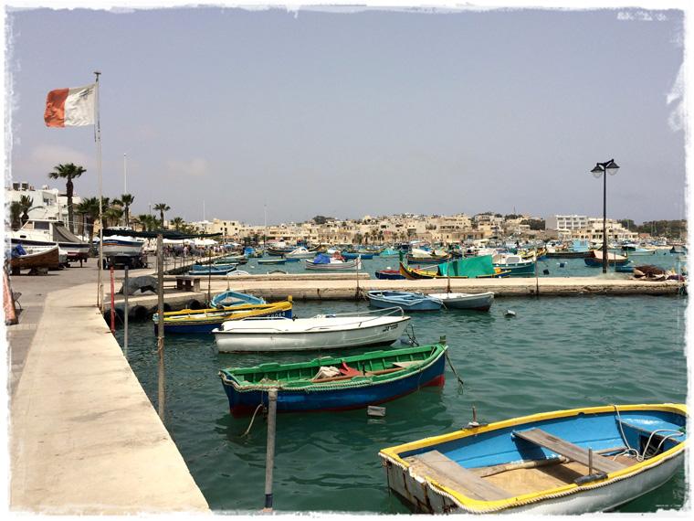 Мальта. Где отведать свежей рыбы? Конечно в Марсашлокк!