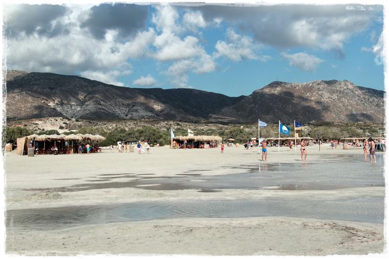 Крит. Розовые пески Элафониси
