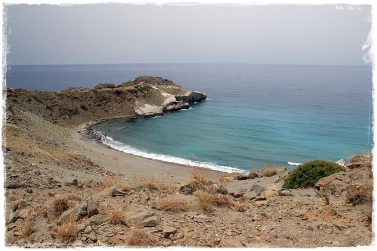 Крит. Дюнный пляж Агиос Павлос