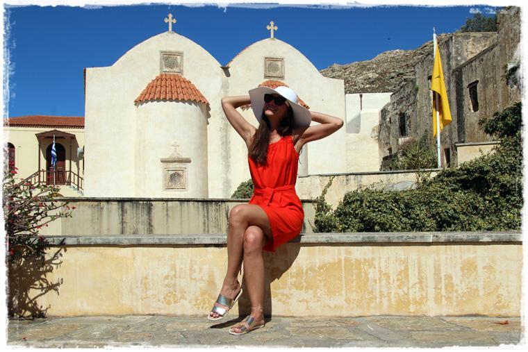 Крит. Разбавляем пляжный отдых - Монастырь Превели