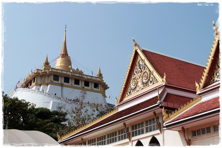 Золотые горы Бангкока - Храм Ват Сакет