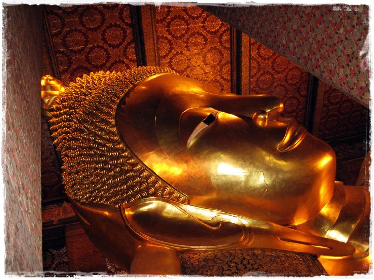 Бангкок. В гостях у лежащего Будды, храм Wat Pho