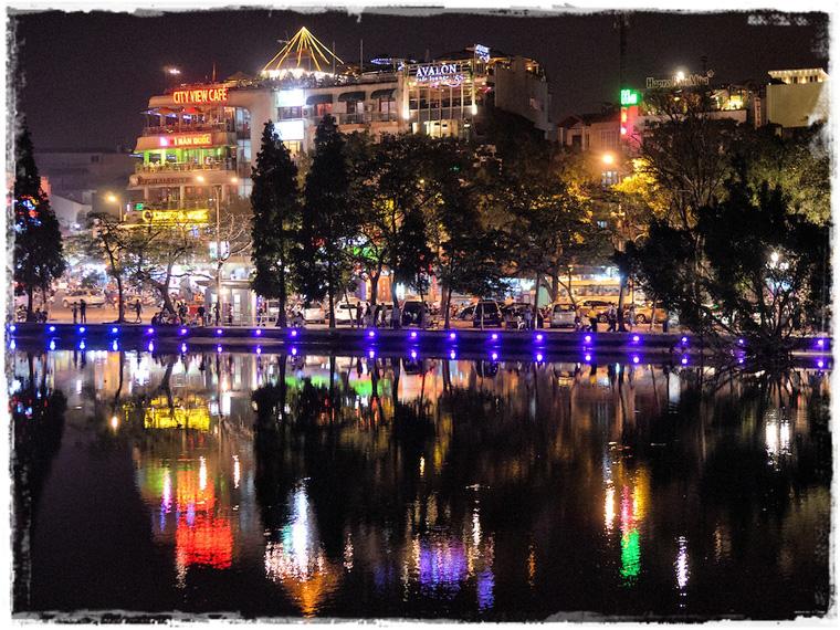 Ханой. Один вечер в городе и Кукольный театр на воде