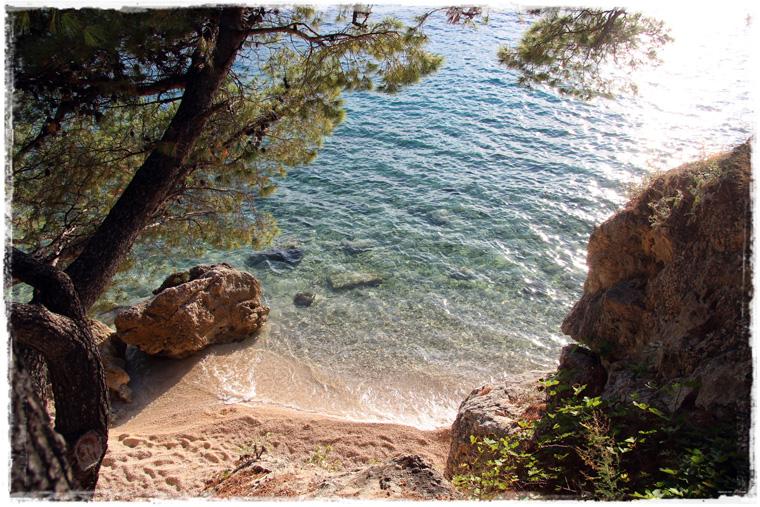 Брела. Пляж Пунта Рата или где в Хорватии купаться хорошо