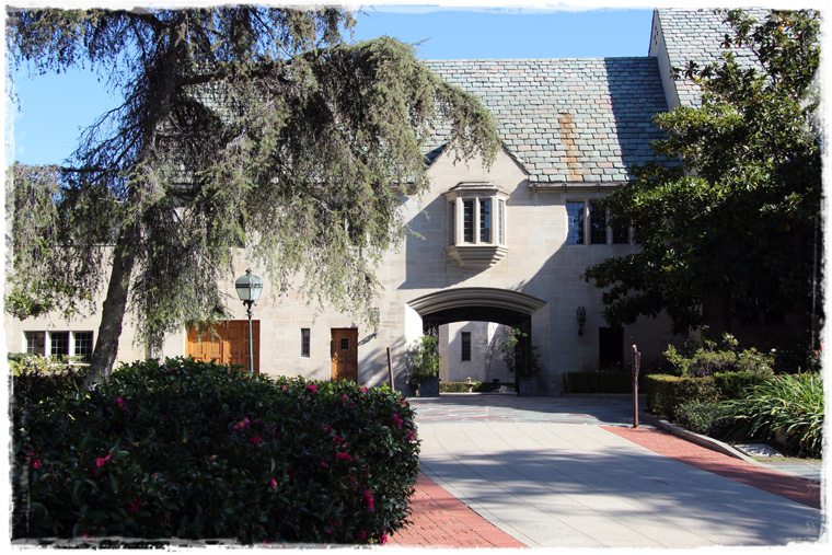 Парк Greystone Mansion в Лос-Анджелесе