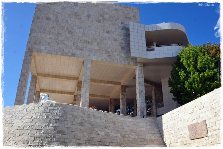 Лос-Анджелес белокаменный: Getty Center